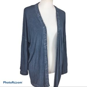 """NWT Pol """"Hand Dyed"""" open front cardigan"""
